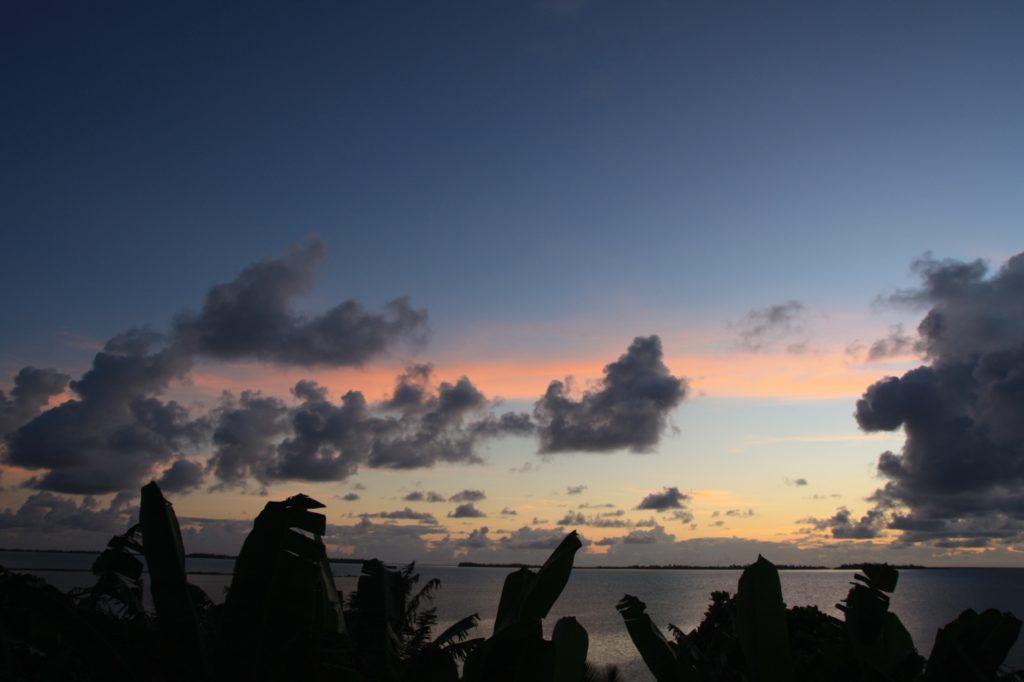 Sunrise - Aitutaki - Iles Cook