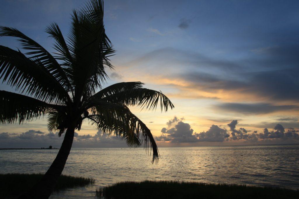 Sunset - Aitutaki - Iles Cook