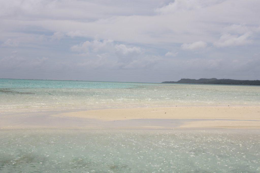 Honeymoon island - aitutaki - Cook islands