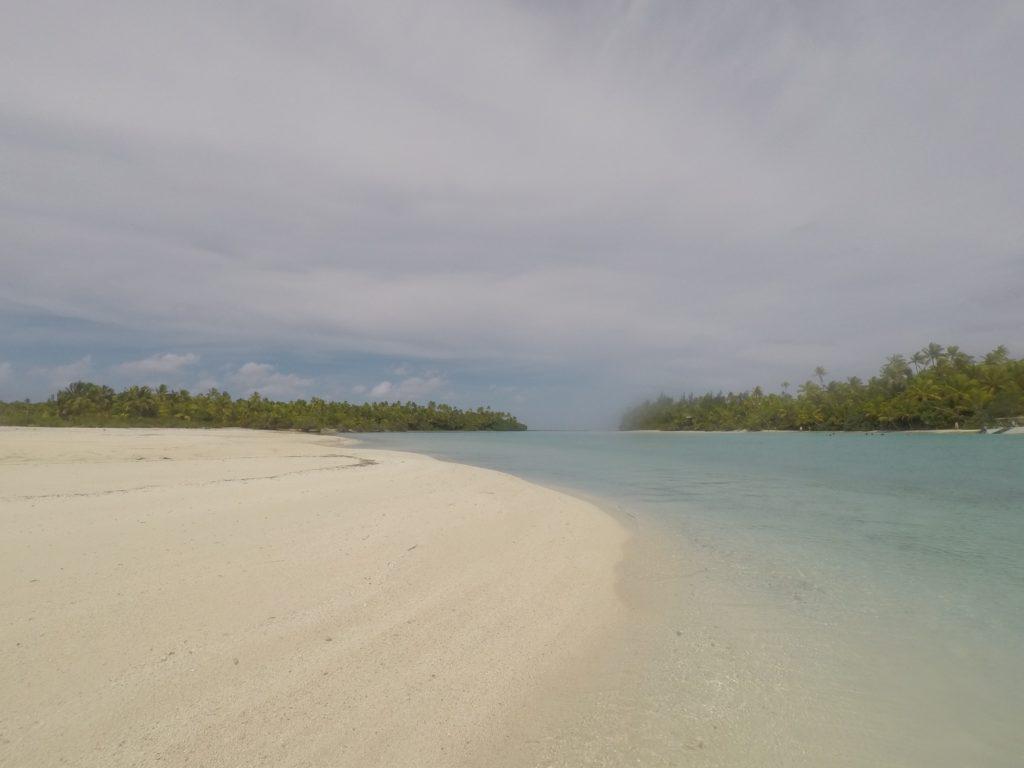 One foot island - Aitutaki