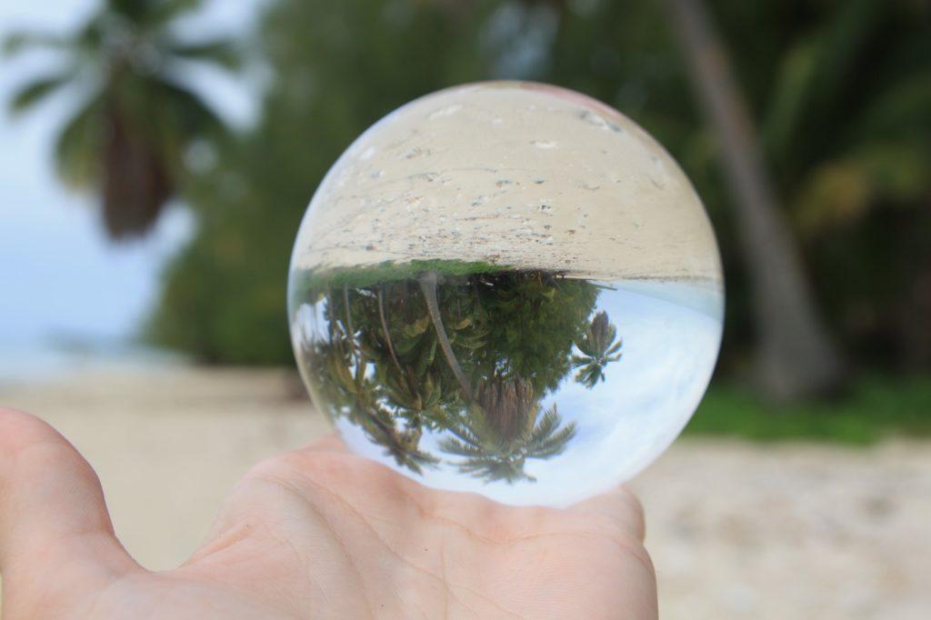 lensball - Aitutaki - Cook islands