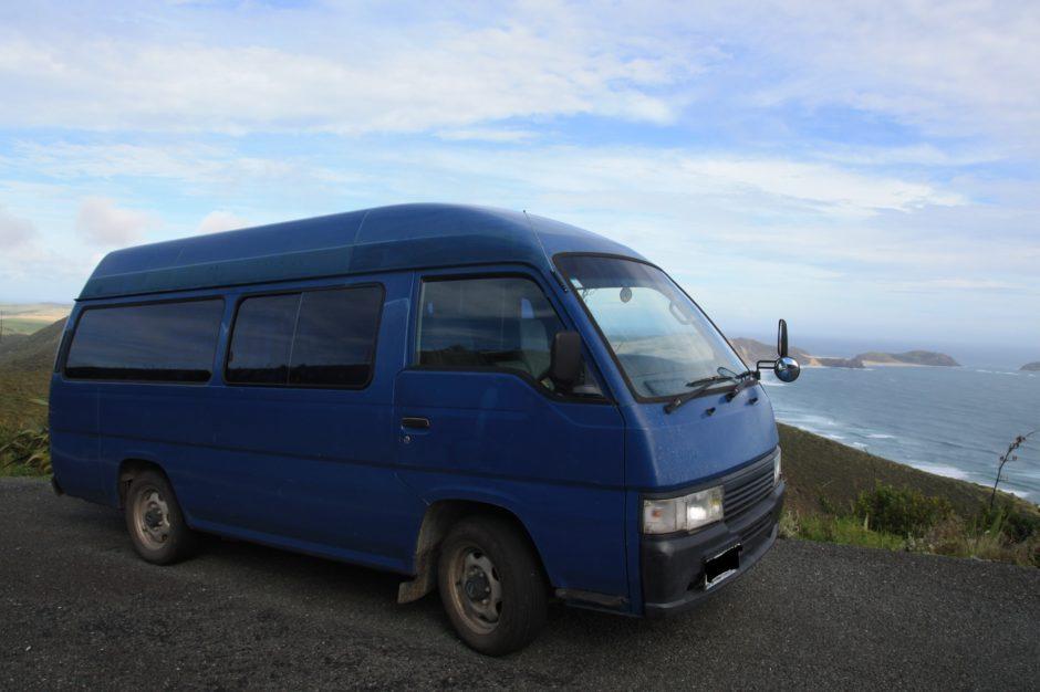campervan-nouvelle zelande-cape reinga