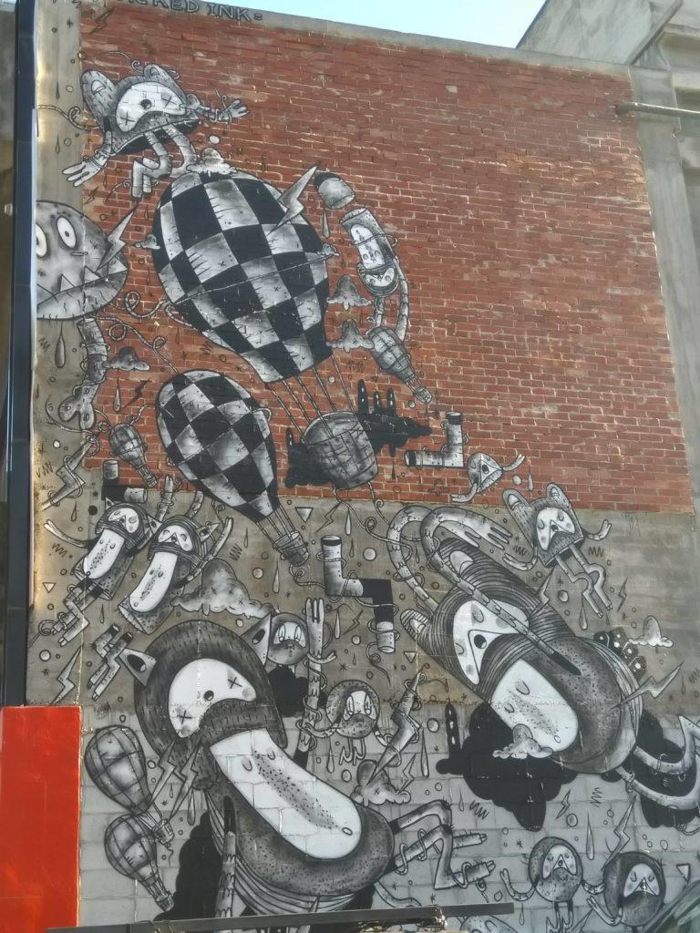 street art-Christchurch