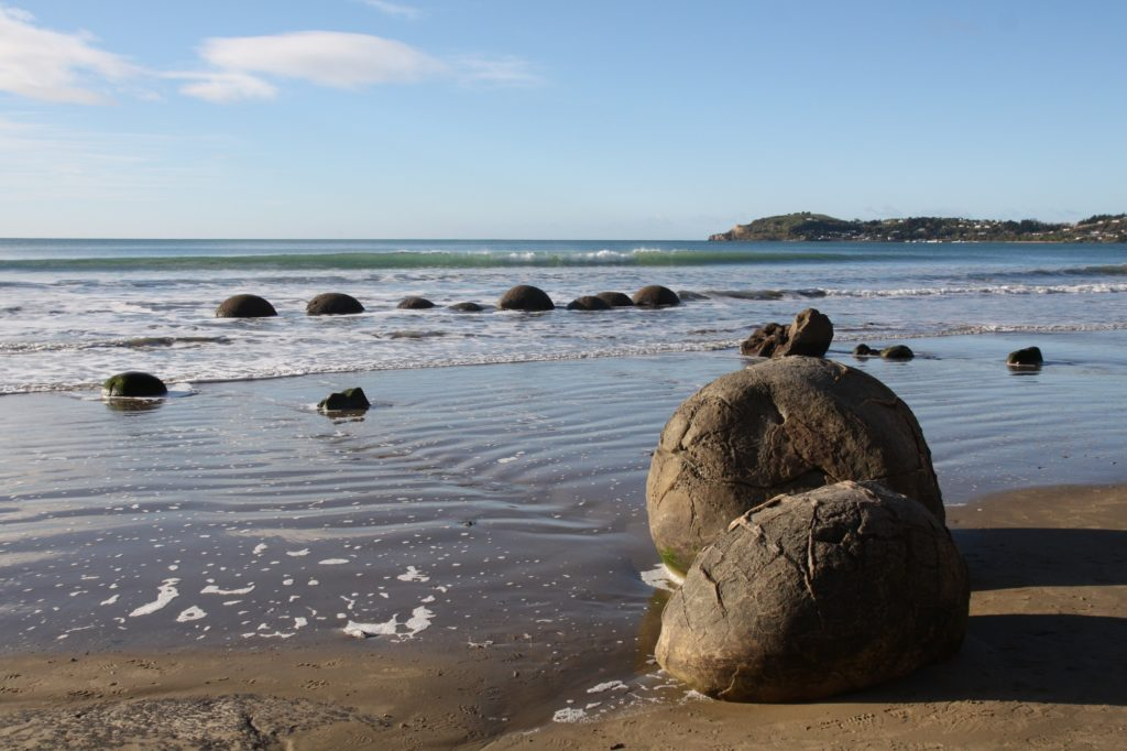 moeraki boulders-nouvelle zelande