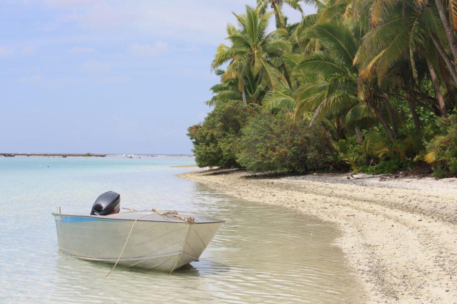 One foot island - Cook islands