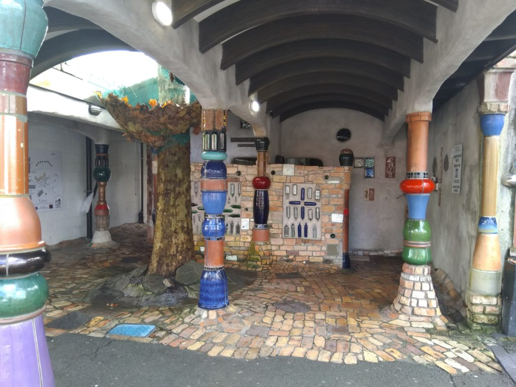 hundertwasser toilettes nouvelle zelande