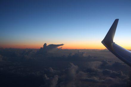 sunrise-avion-plane-sky